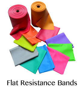 customizable flat exercise bands