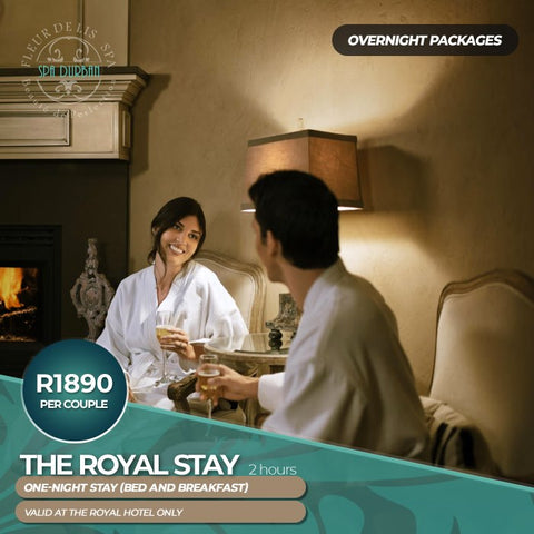 The Royal Stay (Overnight) -2hours