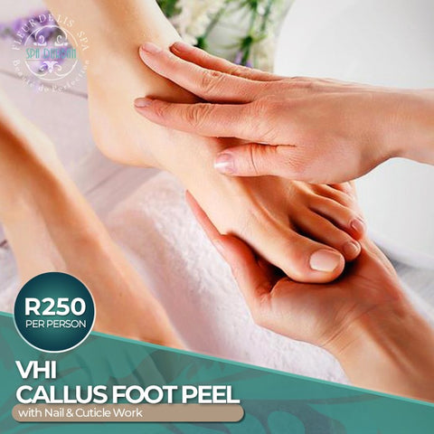 Vhi Callus Foot Peel with Nail & Cuticle Work