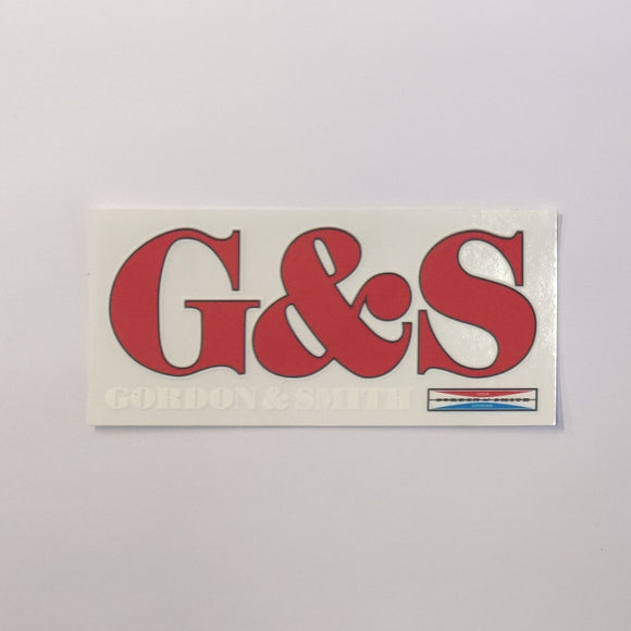 G&S Details Sticker -Multi