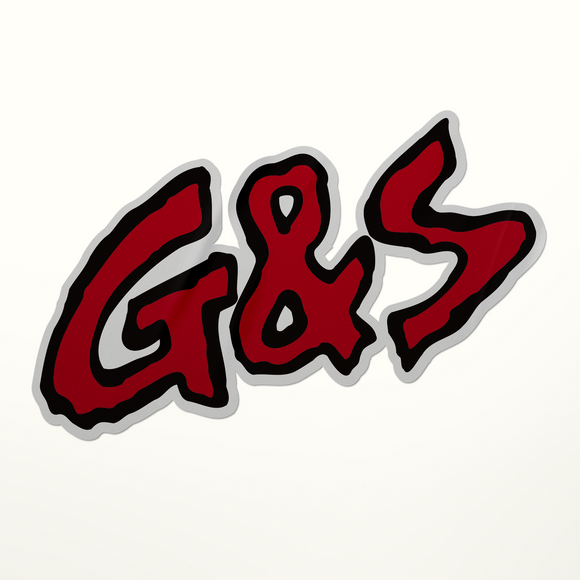 G&S Skate Sticker - Large