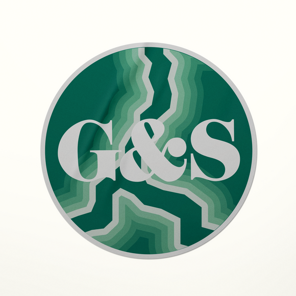 G&S Wave Sticker