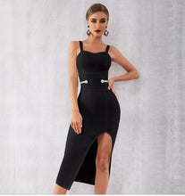 Load image into Gallery viewer, HEIDI - Black Bandage Dress