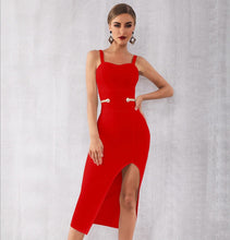Load image into Gallery viewer, HEIDI - Red Bandage Dress