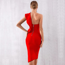 Load image into Gallery viewer, GRACE - Red Bandage Dress