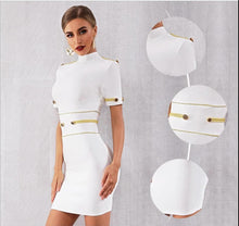 Load image into Gallery viewer, SHELIA -  White Bandage Dress