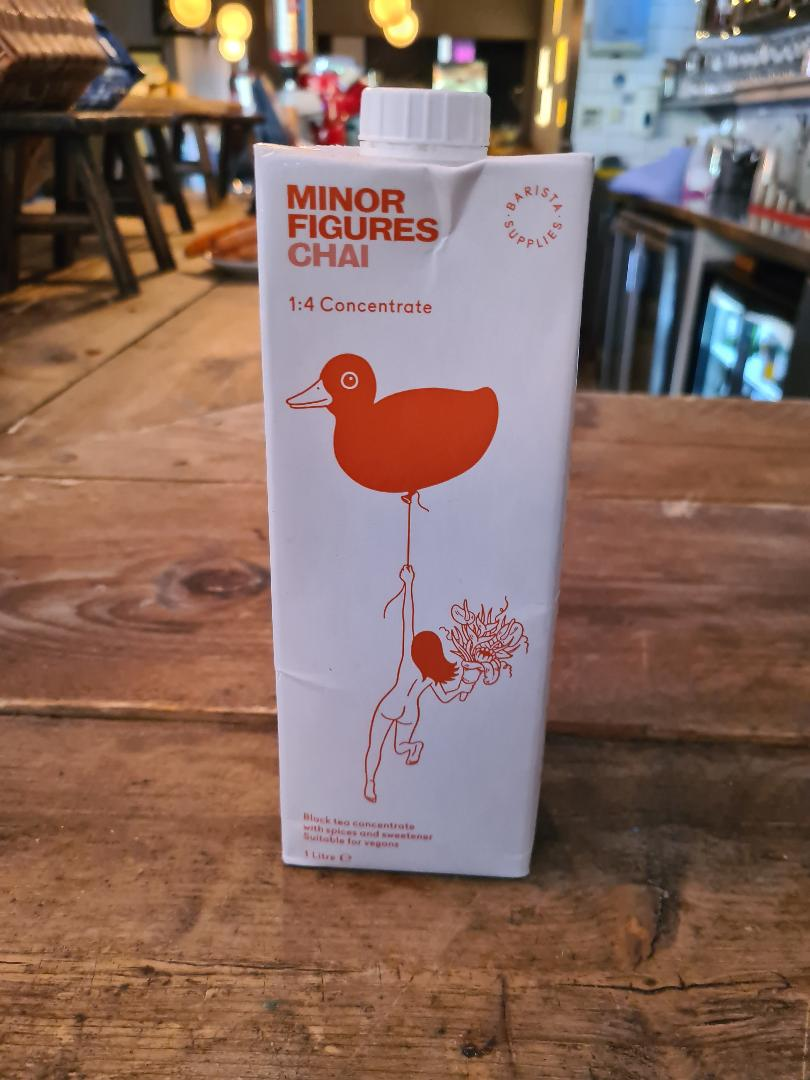 Minor Figures Chain Tea 1Ltr