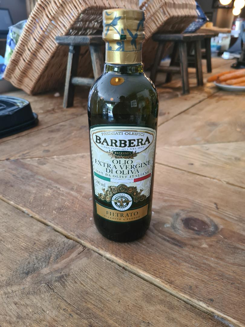Barbera Filtered Extra Virgin Olive Oil 500ml