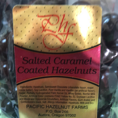 Salted Caramel Coated Hazelnuts