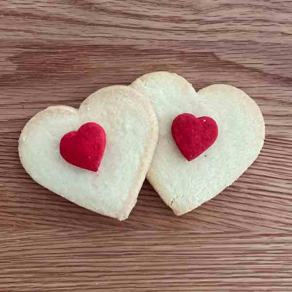 Heart Sugar Cookies (2 units)