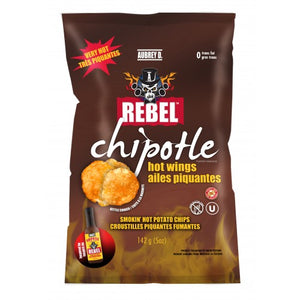 Rebel Spicy Chips (142grms)