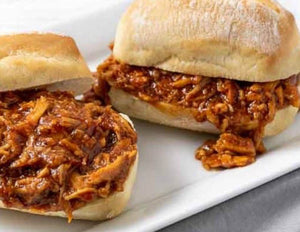 Vegan BBQ Chicken Panini