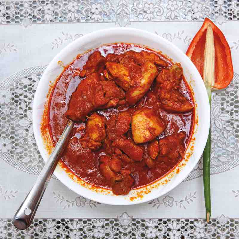 Vegan Chicken Vindaloo