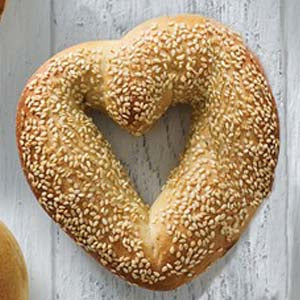 Heart Bagels (24hr notice required)