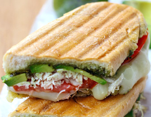 Vegan Chicken Salad Panini