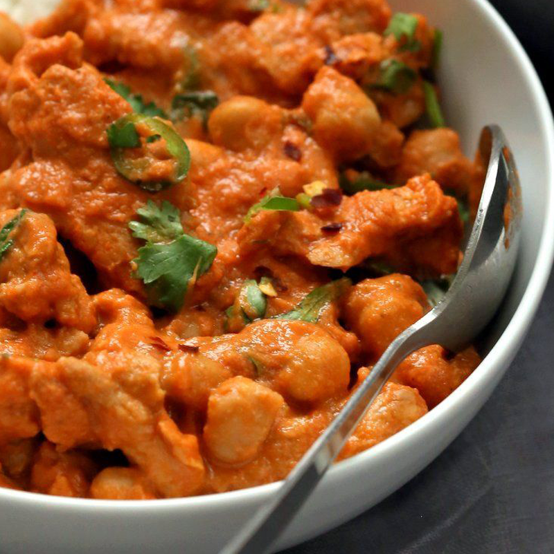 Vegetarian Butter Chicken
