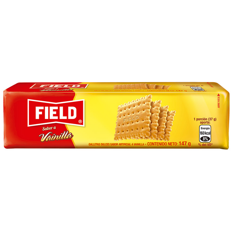GALLETA VAINILLA FAMILIAR FIELD PAQUETE 147 GR