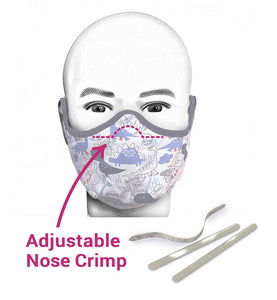 Youth Pattern Dyno Mask