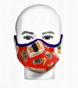 Youth Pattern Teddy Mask