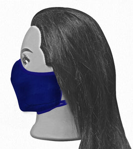 Universal Reversible Mask - Light Blue / Navy