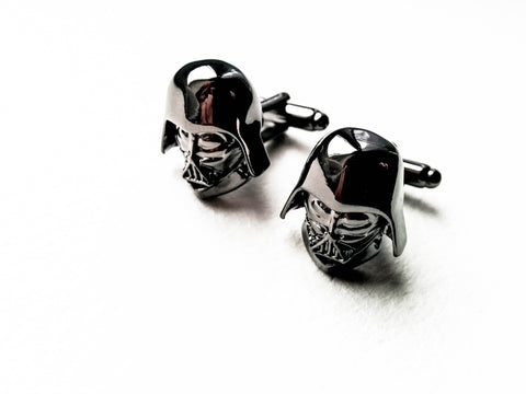 Darth Vader - Star Wars Superhero Cufflinks -  Stainless steel