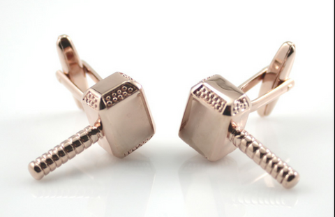 Thor Cuff Links - bronze - 1 pair - BUY ONE GET 2 FREE - MIX AND MATCH