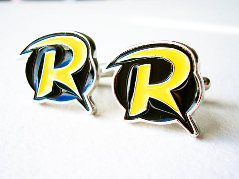 Robin Cuff links - stainless steel - 1 pair - BUY ONE GET 2 FREE - MIX AND MATCH
