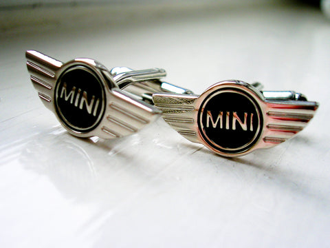 Mini Cufflinks - Stainless steel