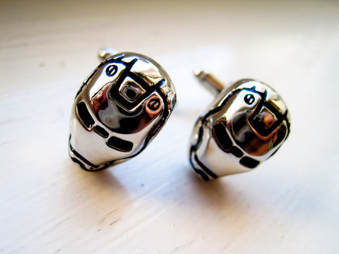 Iron Man Superhero Cufflinks - Stainless steel - 1 pair - BUY ONE GET 2 FREE - MIX AND MATCH