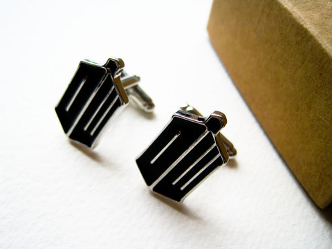 Dr Who cufflinks - Stainless steel