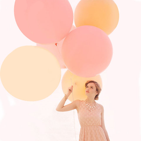 5pcs 90cm Jumbo Latex Balloons Wedding Decoration Helium Inflatable