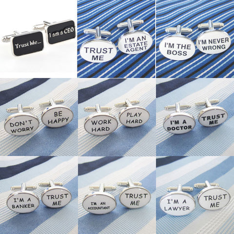 Fashion Career Cufflink novelty 1 Pair