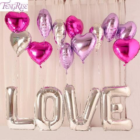 Foil Balloons Wedding or Engagement party