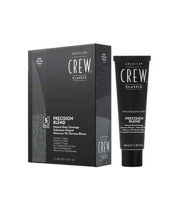 American Crew Precision Blend Dark 40ml (x3) - Kokoro MX