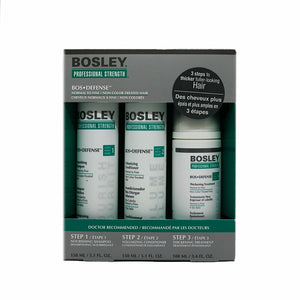 BOSLEY BOS Defense Starter Pack For Non Color - Treated Hair - Kokoro MX