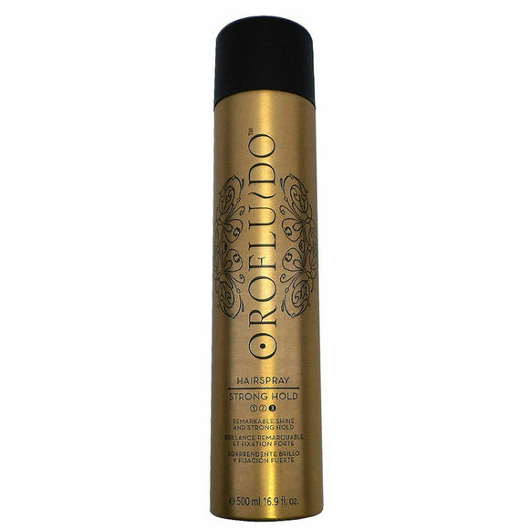 Oro Fluido Strong Hold Hair Spray 500ml - Kokoro MX