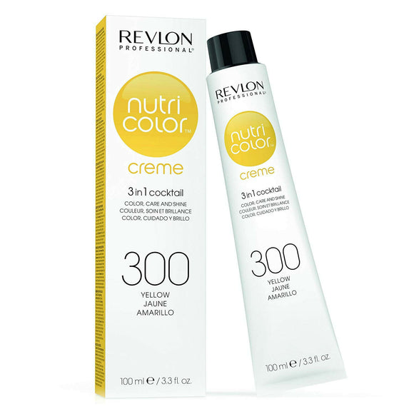 Revlon Nutri Color Creme 300 Yellow 100ml - Kokoro MX