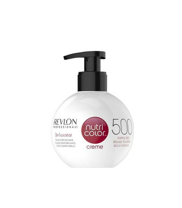 Revlon Nutri Color Creme 500 Purple Red 270ml - Kokoro MX