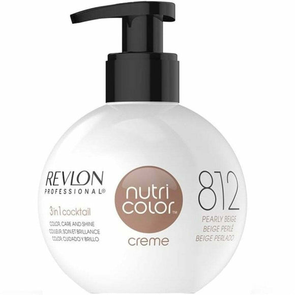 Revlon Nutri Color Creme 812 Pearly Beige 270ml - Kokoro MX