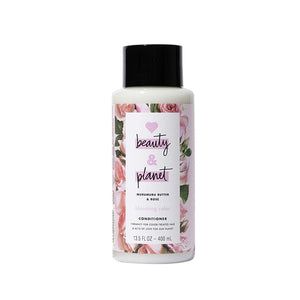 Acondicionador Cabello Teñido Love Beauty and Planet Blooming Color Murumuru Butter & Rose 400ml - Kokoro MX