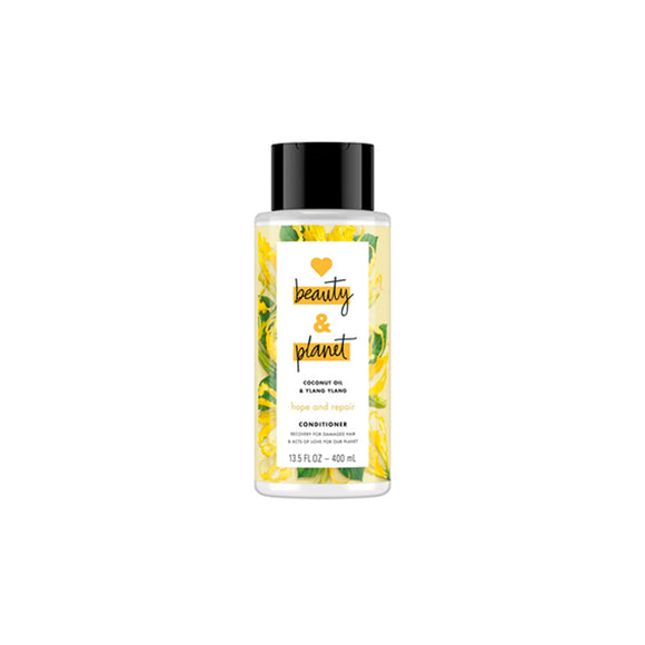 Acondicionador Reparador Love Beauty and Planet Hope and Repair Coconut Oil & Ylang Ylang 400ml - Kokoro MX