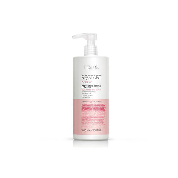 Shampoo Protector de Color Suave Revlon Restart Color Protective Gentle Cleanser 1000ml