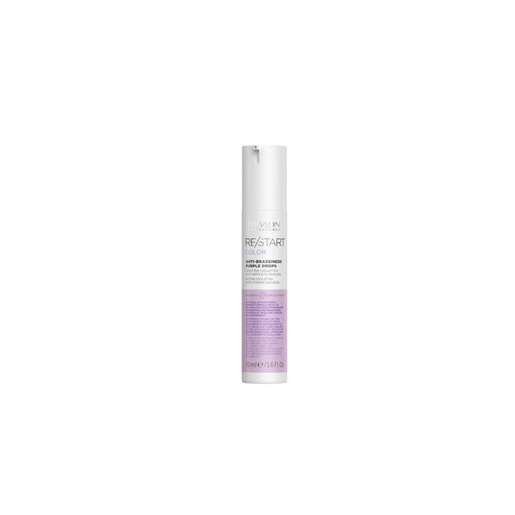 Gotas Violeta Anti-Tonos Cálidos Revlon Restart Anti-Brassiness Purple Drops 50ml
