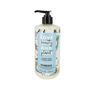 Crema Corporal Hidratante Love Beauty and Planet Luscious Hydration Coconut Water & Mimosa 400ml - Kokoro MX