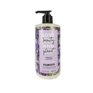 Crema Corporal Relajante Love Beauty and Planet Soothe and Serene Argan Oil & Lavender Body Lotion 400ml - Kokoro MX