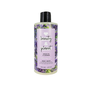 Jabón Corporal Relajante Love Beauty and Planet Relaxing Rain Argan Oil & Lavender Body Wash 473ml - Kokoro MX