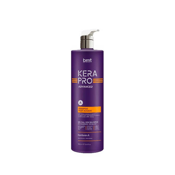 Shampoo Keratina Post Alasiado BMT Kerapro Advanced 1000ml - Kokoro MX