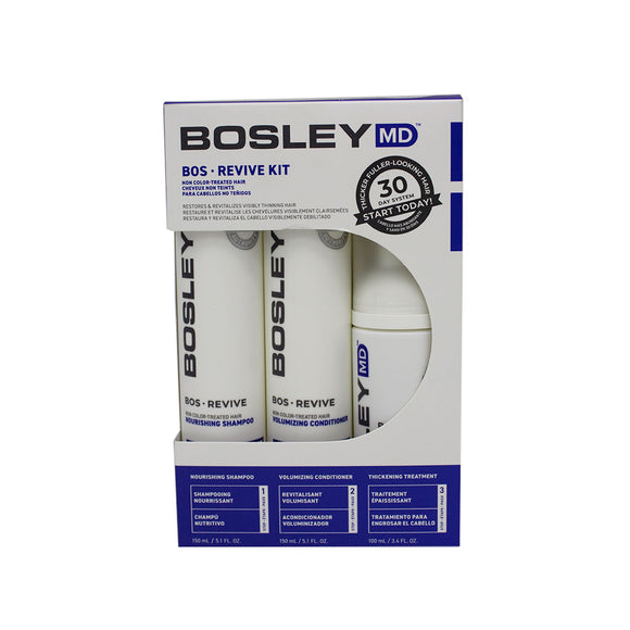 Bosley BosRevive Starter Pack Non Color -Treated Hair