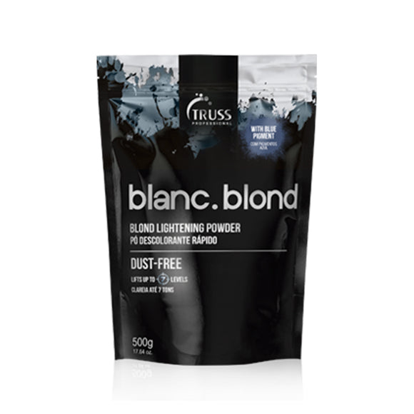 TRUSS Blanc Blond Lightening Powder Dust Free 500g - Kokoro MX