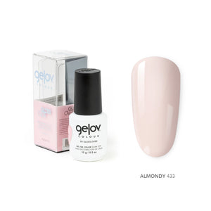 Gloss Over Gel De Color Para Uñas Gelov Colour Almondy 433 - Kokoro MX